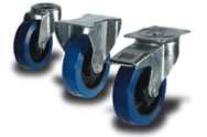 Rubber (Blue) Castors