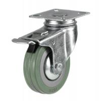 Braked castor 75mm wheel diameter upto 50kg capacity