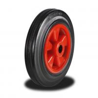 160mm Wheel with Rubber on Nylon Centre 135Kg Capacity
