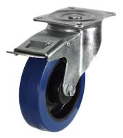 Heavy Duty Braked castors 160mm wheel diameter upto 350kg capacity