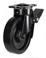 Heavy Duty Braked castors 125mm wheel diameter upto 250kg capacity