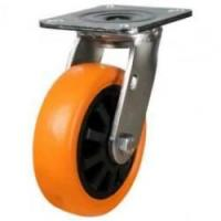 LMHPX Series; Fabricated / Polyurethane on Nylon Centre Castors