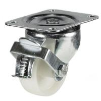 LW Series castor; Light Duty Pressed Steel/Nylon Wheel