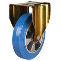 125mm Elastic Polyurethane On Aluminium Centre 80 Shore A Swivel Castor