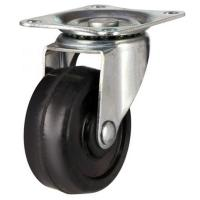 50mm Light Duty Solid Rubber Swivel Castors