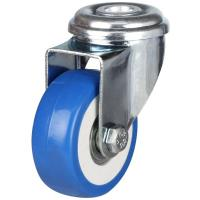 50mm Light Duty Non Marking PVC Bolt Hole Castors