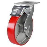 Braked castors 150mm wheel diameter upto 400kg capacity
