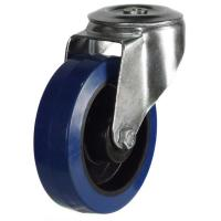 M12 Bolt Hole castors 200mm wheel diameter upto 350kg capacity