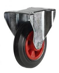 Fixed castors 80mm wheel diameter upto 60kg capacity