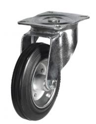 Swivel castors 80mm wheel diameter upto 60kg capacity