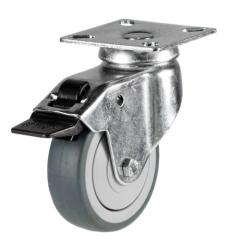 Braked castors 50mm wheel diameter upto 40kg capacity