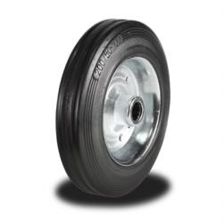 200mm Wheel with Rubber on Steel Disk Centre 205Kg Capacity