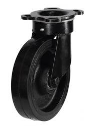 Swivel castor 125mm wheel diameter upto 250kg capacity
