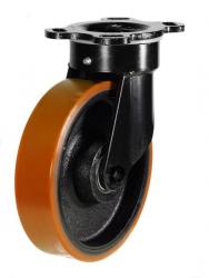 Swivel castor 125mm wheel diameter upto 550kg capacity