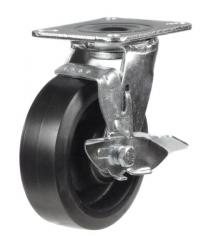 Braked castor 125mm wheel diameter upto 275kg capacity