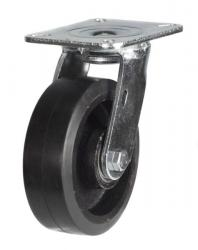 Swivel castor 100mm wheel diameter upto 220kg capacity