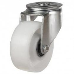 5 Inch Bolt Hole Caster | 125mm Nylon Bolt Hole Castors