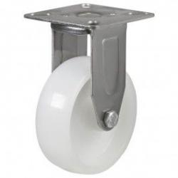 75mm Medium Duty Nylon Stainless Steel Fixed Castors