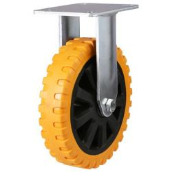 Fixed castors 125mm wheel diameter upto 280kg capacity