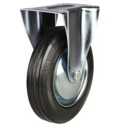 Fixed castor 200mm wheel diameter upto 200 kg capacity