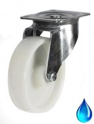 Stainless Steel, Swivel castor 100mm wheel diameter upto 200kg capacity