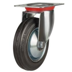 Swivel castor 160mm wheel diameter upto 150 kg capacity