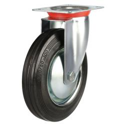 Swivel castor 200mm wheel diameter upto 200 kg capacity