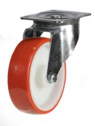Swivel castor 80mm wheel diameter upto 150kg capacity