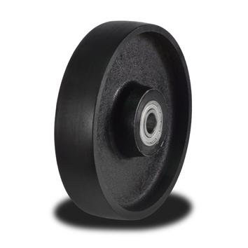 100mm Solid Cast Iron Wheel with 350Kg Capacity