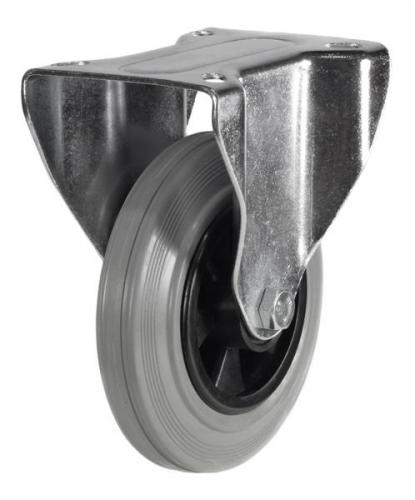 Fixed castors 200mm wheel diameter upto 205kg capacity