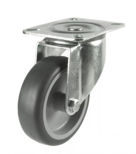 Swivel castors 100mm wheel diameter upto 80kg capacity