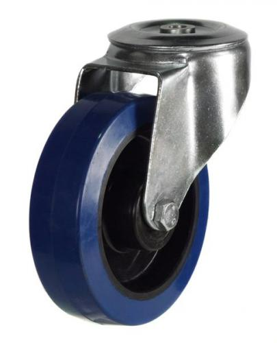 M12 Bolt Hole castor 160mm wheel diameter upto 350kg capacity