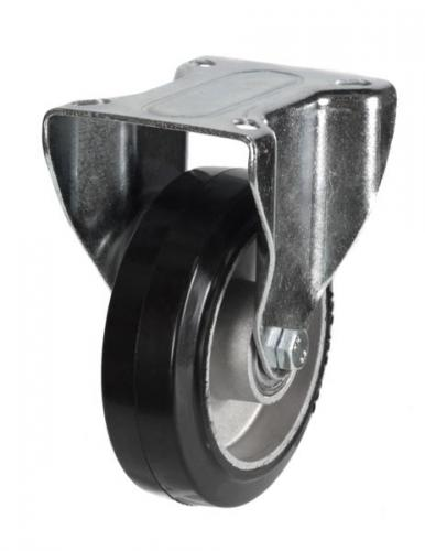 Fixed castor 200mm wheel diameter upto 350kg capacity