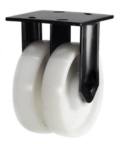 Heavy Duty Fixed castors 150mm wheel diameter upto 1500kg capacity