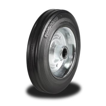 125mm Wheel with Rubber on Steel Disk Centre 100Kg Capacity