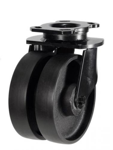 Heavy Duty Swivel castors 200mm wheel diameter upto 1500kg capacity