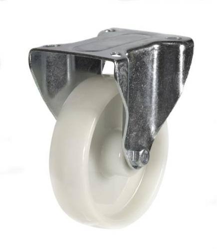 Fixed castors 160mm wheel diameter upto 350kg capacity