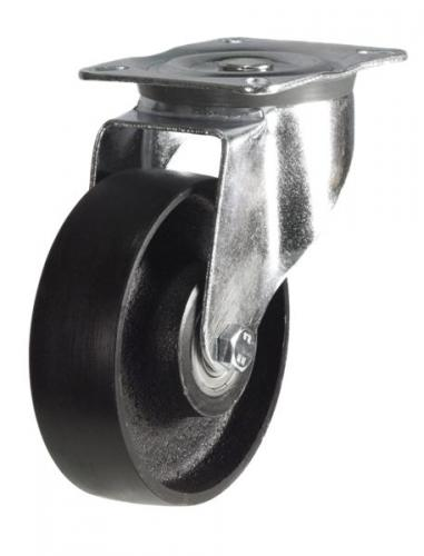 Swivel castors 200mm wheel diameter upto 350kg capacity