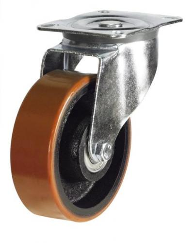 Swivel castors 125mm wheel diameter upto 300kg capacity