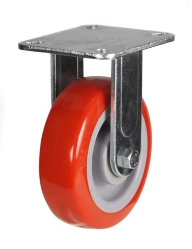 Fixed castor 100mm wheel diameter upto 320kg capacity