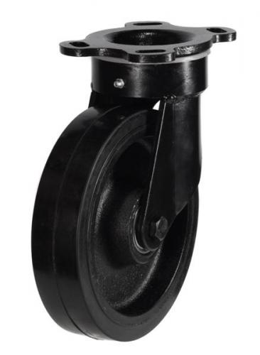 Heavy Duty Swivel castors 250mm wheel diameter upto 700kg capacity