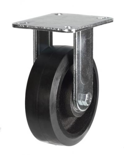 Fixed castors 100mm wheel diameter upto 220kg capacity