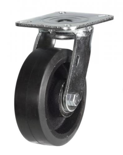 Swivel castor 125mm wheel diameter upto 275kg capacity