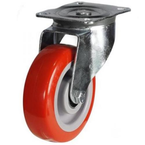 100mm Heavy Duty Poly Nylon Swivel Castor