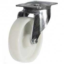 100mm medium duty swivel castor polypropylene wheel