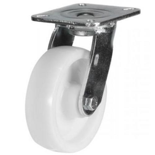 125mm Heavy Duty Nylon Swivel castors - 350kg capacity