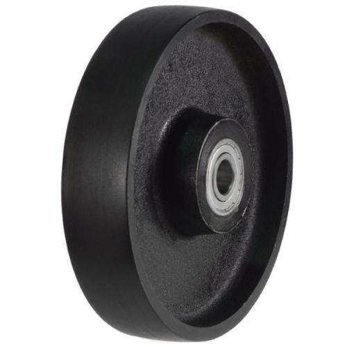 125mm Solid Cast Iron Wheel with 650Kg Capacity