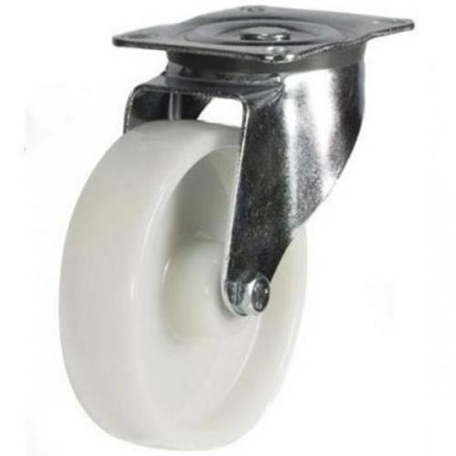 125mm medium duty swivel castor nylon wheel