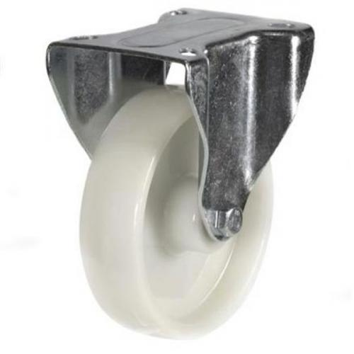 150mm Heavy Duty Nylon Fixed castors - 350kg capacity