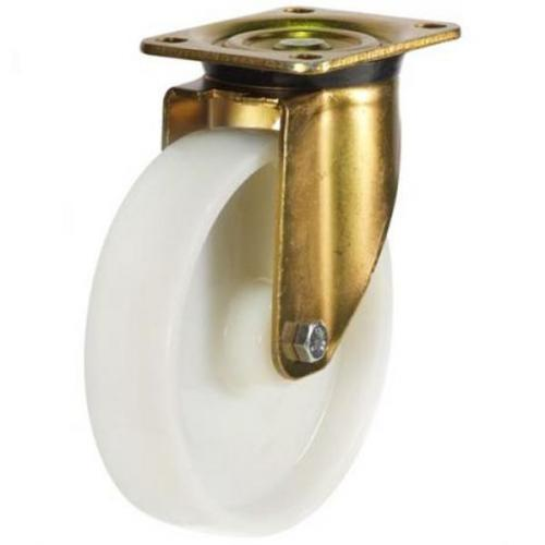 200mm Heavy Duty Nylon Swivel castors - 800kg capacity